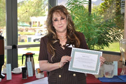 Southern Hills Republican Women Service Award - Ms. Paula Richter