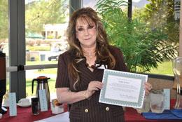 Southern Hills Republican Women Service Award - Ms. Paula Richter