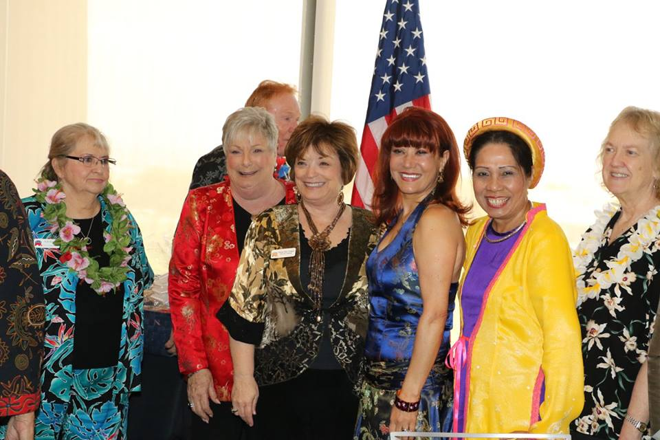 May 2016 fashion show featuring AIA Heritage month