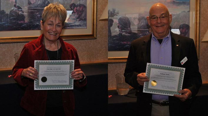 Southern Hills Republican Women Service Award - Ms. Carolyn von Gortler and Mr. Bill Kohn