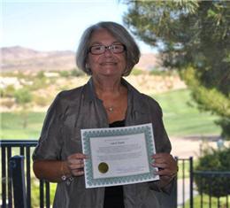 Southern Hills Republican Women Service Award - Carol Tank