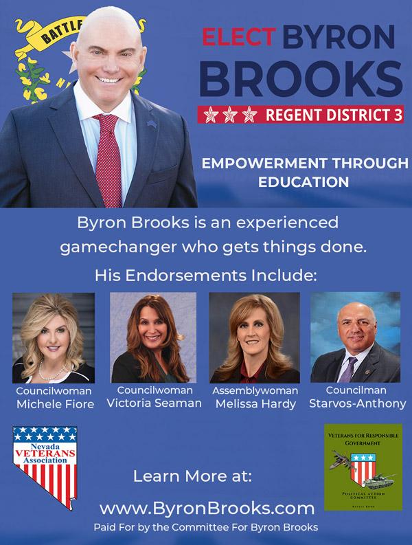 Byron Brooks Ad