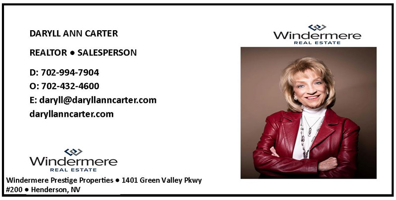 Windermere Real Estate Daryll Ann ad