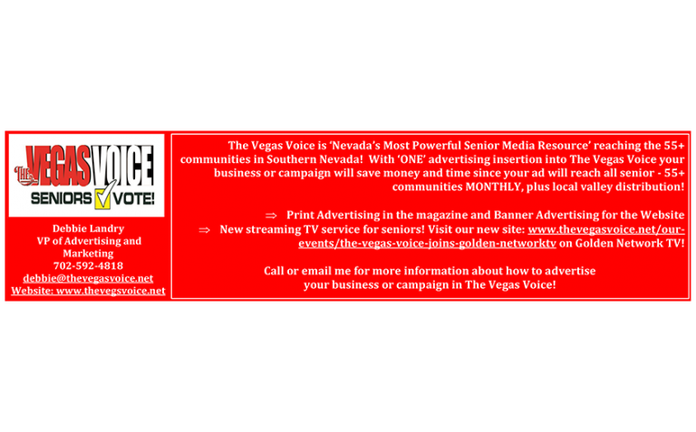 Vegas Voice Ad - Horizontal